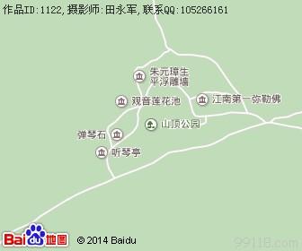 头陀岭景区地图浏览