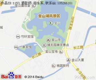 江苏镇江金山寺地图浏览