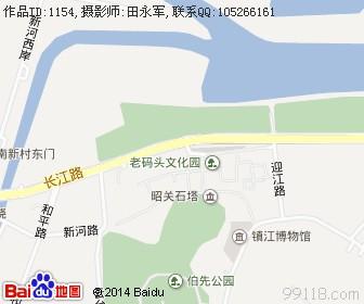 江苏镇江地图浏览