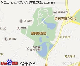 山西太原地图浏览
